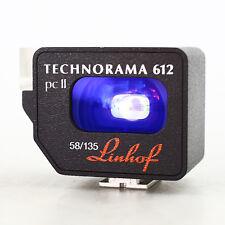 Linhof Technorama PC II 612 58mm/135mm Viewfinder Mint