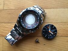 Seiko Sportura Chronograph Watch Spares Repair A/F Wristwatch Bracelet Strap