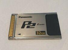 Panasonic P2 Professional Video 32GB memory card series E