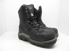 Dunlop Men's 8'' Composite Toe Composite Plate WP Boot DLNA16101 Black 10M