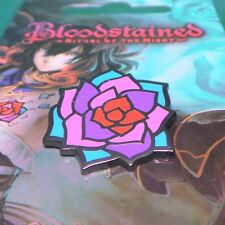Bloodstained: Ritual of the Night Magi-Crystal Rose Pin Officially Licensed
