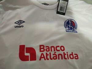 Camiseta Del Olimpia Blanca XL Temporada 2019-2020 Local