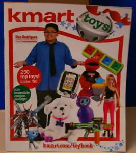 K-Mart 2011 Toy Wish Book Rico Rodriguez 64 page Christmas BARBIE STAR WARS LEGO