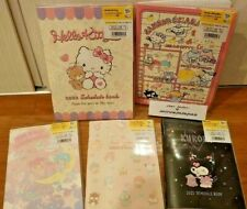 Sanrio Characters 2022 Monthly Planner Schedule Notebook A6 B6 Sizes Hello Kitty