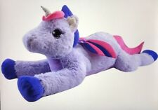 My Little Pony Jumbo PLUSH Unicorn Girl Doll Pony Princess Play ~ over 4' LONG