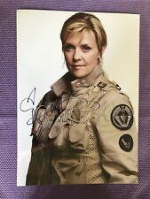 Autogramm Amanda Tapping Stargate Sanctuary 1