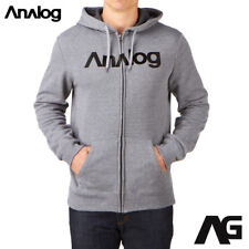NEW Analog Burton Analogo Snowboard Full-Zip Fleece Hoodie NWT Rt:62$ £62 65€
