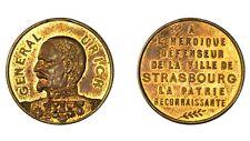 FRANCIA, ALSACE STRASBORUG Guerre de 1870 General Uhrich