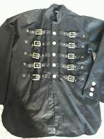 punk/goth Dead Threads goth punk black buckle jacket. Size Large.