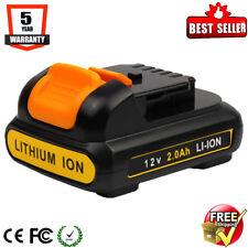 For DeWALT DCB120 12V MAX Lithium Ion Battery DCB127 DCF815 DCD710 DCF813 DCB107