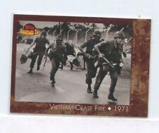 2001 Topps American Pie #133 Vietnam Cease Fire