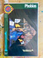 Fast Forward 1, Phobias, Pirahna Press, Grant Morrison & Dave McKean, Rare