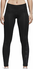 adidas Alphaskin Techfit Long Womens Training Tights Black Gym Sports Workout