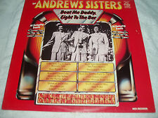 "Andrews Sisters ""Beat Me Daddy, Eight To The Bar"" vinyl LP. MFP 50556 MONO n/m"