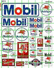 4011 DAVE'S DECALS HO GAS/OIL SET VINTAGE FILLING STATION ADVERTISING SIGNS