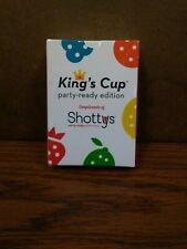 King's Cup Card Game party-ready edition ~ Compliments of Shottys Drinking Game