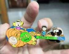 Snoopy Peanut Haloween pumpkin HRC guitar 2006 pin