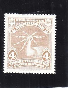 Hondouras: Telegraph Tax Stamp, Unlisted,MNH (37796)