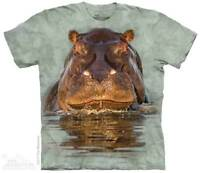 Hippo T-Shirt by The Mountain. African Jungle Zoo Sizes S-5XL NEW