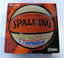 Cheryl Miller Autographed early WNBA logo 1997-2012 Basketball Phoenix Mercury