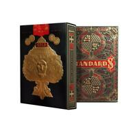 Gold Standards Playing Cards by Art of Play Black Limited Edition