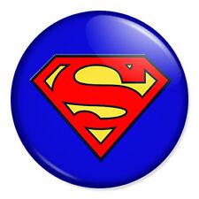"Superman Logo 25mm 1"" Pin Badge Button DC Comics Superhero Classic"