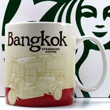 Thailand Starbucks BANGKOK CITY Mug Global Series Collector Coffee Tea 16 oz New