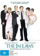 THE IN-LAWS (DVD, 2007) STARRING MICHAEL DOUGLAS, ALBERT BROOKS, CANDICE BERGEN
