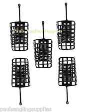 5  Square Metal  Fishing Cage Swim feeders - Swimfeeders for line reel etc
