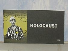 HOLOCAUST  CHICK CHRISTIAN/ GOSPEL TRACT 1984 - FROM JACK CHICK PUBLICATIONS