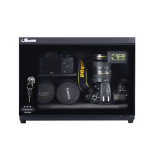 25L LCD Dehumidify Dry Cabinet Box For Lens Camera Equipment Storage w/Partition