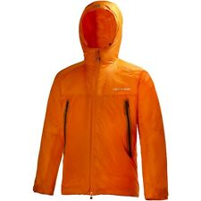 Helly Hansen Odin Hooded Insulated Orange Belay Jacket Mens Large Nwt $350