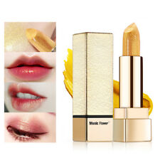 1Pcs Women Long Lasting Golden Lipstick Lip Metallic Glitter Lips Cosmetics New