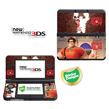 Wreck-it Ralph Vinyl Skin Sticker for NEW Nintendo 3DS (with C Stick)