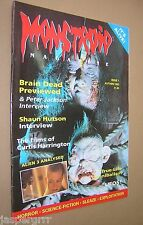MONSTROID MAGAZINE ISSUE NO.1. 1992. HORROR & MONSTER SCIENCE FICTION INTEREST.
