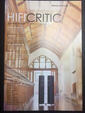 HIFI CRITIC 2/2015 mit Linn Klimax DSM, Naim Statement, McIntosh, MBA, Arcam,...