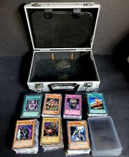 "Intec Hard Case Yugioh Cards Grab Bag Lot 10.5"" X 7.75"" Sleeves Nintendo 1996"