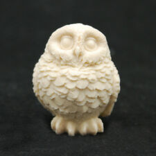 Real Owl L, Silicone Mold Mould Chocolate Polymer Clay Soap Candle Wax Resin
