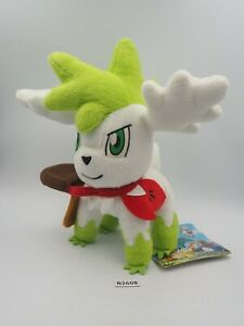 "Shaymin Sky B2608 Mystery Dungeon Pokemon Center 2009 Plush 8"" Toy Doll Japan"