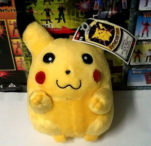 "Nintendo Tomy Pokemon Stuffed 9"" Plush Pikachu new w/tag japan import"