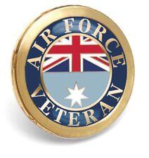 NEW* Royal Australian Air Force Veterans Badge * Lapel* ANZAC Day* Remembrance D