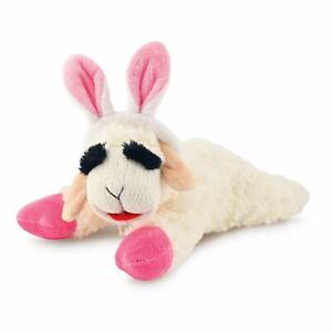 """Multipet Lamb Chop with Bunny Ears Dog Toy, Mini 6""""   Free Shipping"""