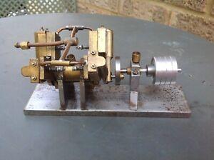 Scratch built 4 cylinder marine engine