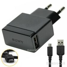 Sony EP880 Adaptateur Chargeur Secteur + USB Cable pour Sony Xperia Z5 Compact