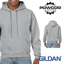 Gildan Heavy Blend Plain Hooded Sweatshirt Hoodie Sweat Hi Viz Hoody Jumper
