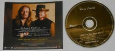 Van Zant  At Least I'm Free   U.S. promo cd