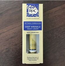 Roc Retinol Correxion Deep Night Wrinkle Face Lines Crow Cream Moisturiser 30ml