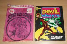 ED.CORNO SERIE DEVIL GIGANTE  N° 13 1977 CON BUSTA ORIGINALE APERTA  N° 10 !!!!!