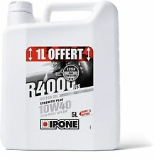 IPONE - R4000 RS - Huile Moto 4 Temps 10W40 Synthetic Bidon 4 Litres + 1L Offert