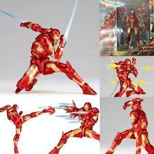 Amazing Revoltech Yamaguchi Iron Man MK37 NO.013 Bleeding Edge Armor Figure Toy